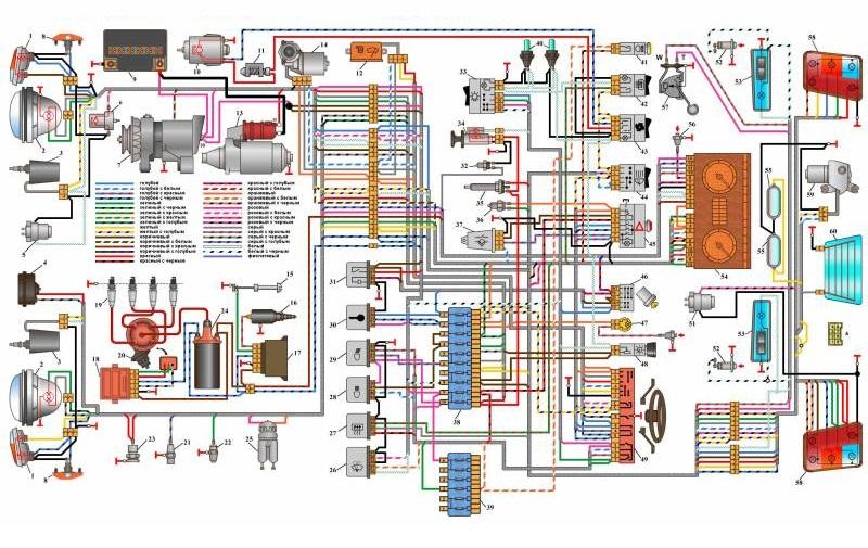 Второй вариант схемы НИВА 21213